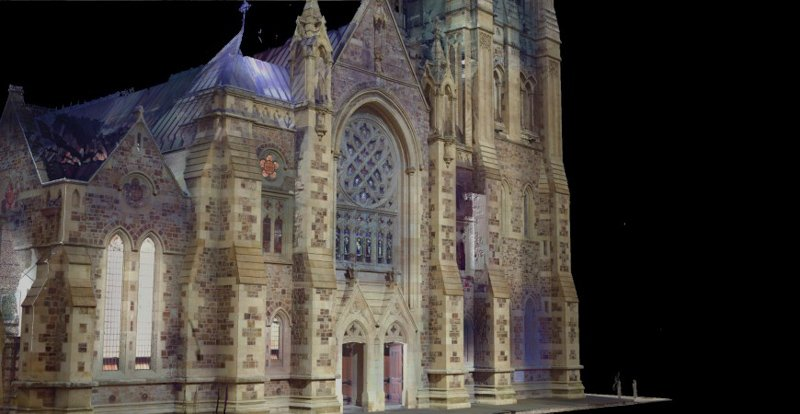REALSERVE REALITY CAPTURE 3D SCANNING AND MODELLING SERVICES SAMPLE OF A HISTORIC BUILDING FRONT