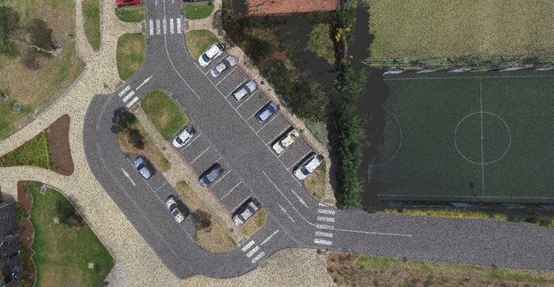 REALSERVE REALITY CAPTURE 3D SCANNING OF COMMERCIAL PROPERTIES AERIAL SCAN