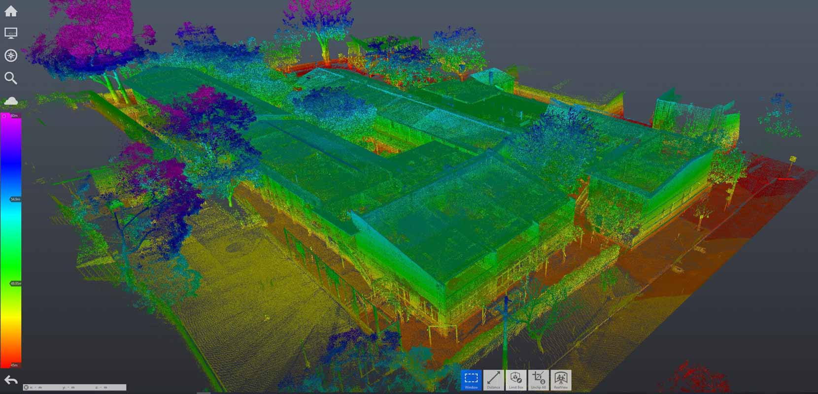 REALSERVE SAMPLE OF 3D POINT CLOUD USED IN BUILDING VERIFICATION SERVICES