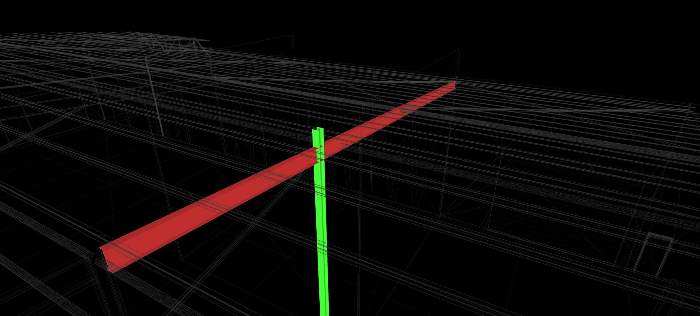 CLASH DETECTION BUILDING VERIFICATION SAMPLE OF TWO PIPES POINTCLOUD FROM REALSERVE