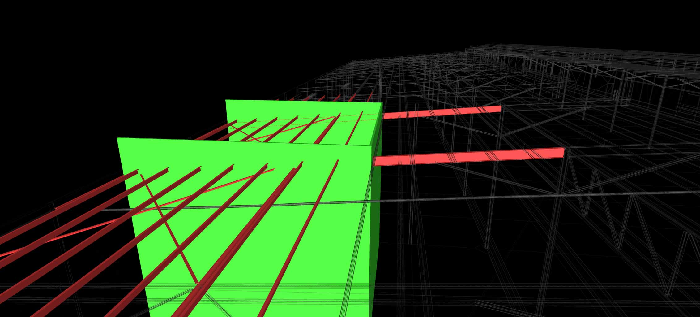 CLASH DETECTION BUILDING VERIFICATION SAMPLE OF WALLS AND PIPES POINTCLOUD FROM REALSERVE