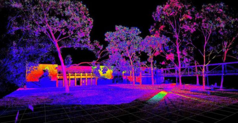 3D Laser Scanning of a Commercial Property at Monash University to create a point cloud and revit model