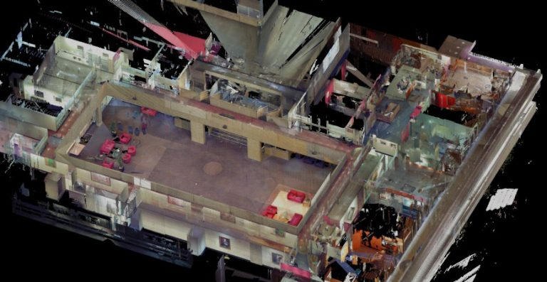 3D Point Cloud and Revit Model to Refurbish a Commercial Building at UTS Sydney