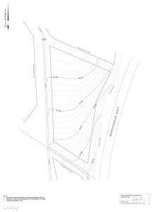 Vinyard contours plan by realserve for a winery commercial property