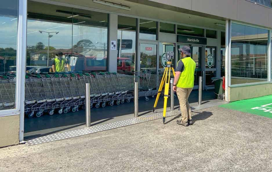 Feature and level survey company in New South Wales for commercial retail tenancy properties