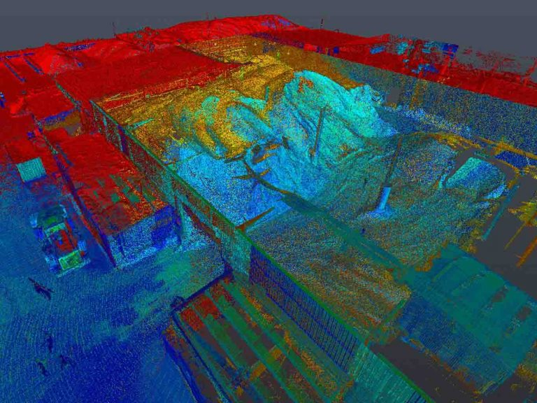 How 3D Scanning Geospatial Technology from Realserve can create a Volumetric Analysis for a commercial property