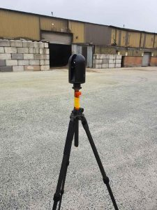How 3D Scanning Geospatial Technology from Realserve can create a Volumetric Analysis for a commercial property building walls