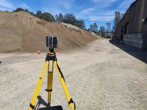 How 3D Scanning Geospatial Technology from Realserve can create a Volumetric Analysis for a commercial property exterior
