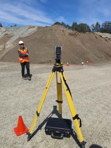 How 3D Scanning Geospatial Technology from Realserve can create a Volumetric Analysis for a commercial property stockpile