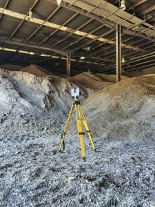 How 3D Scanning Geospatial Technology from Realserve can create a Volumetric Analysis for a commercial property with a Leica 3D scanner
