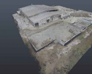 How 3D Scanning Geospatial Technology from Realserve can create a Volumetric Analysis for a commercial property with an RPA aerial view approaching