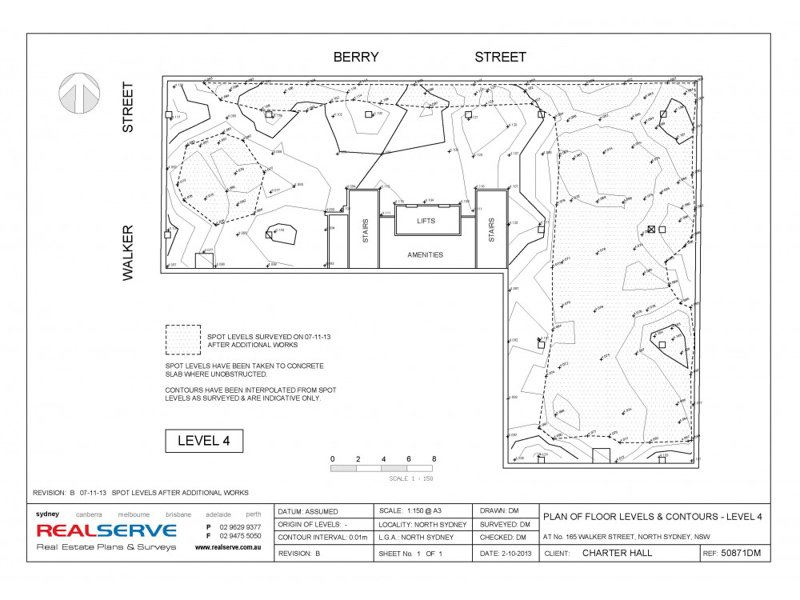 REALSERVE FLOOR LEVEL SURVEY SAMPLE