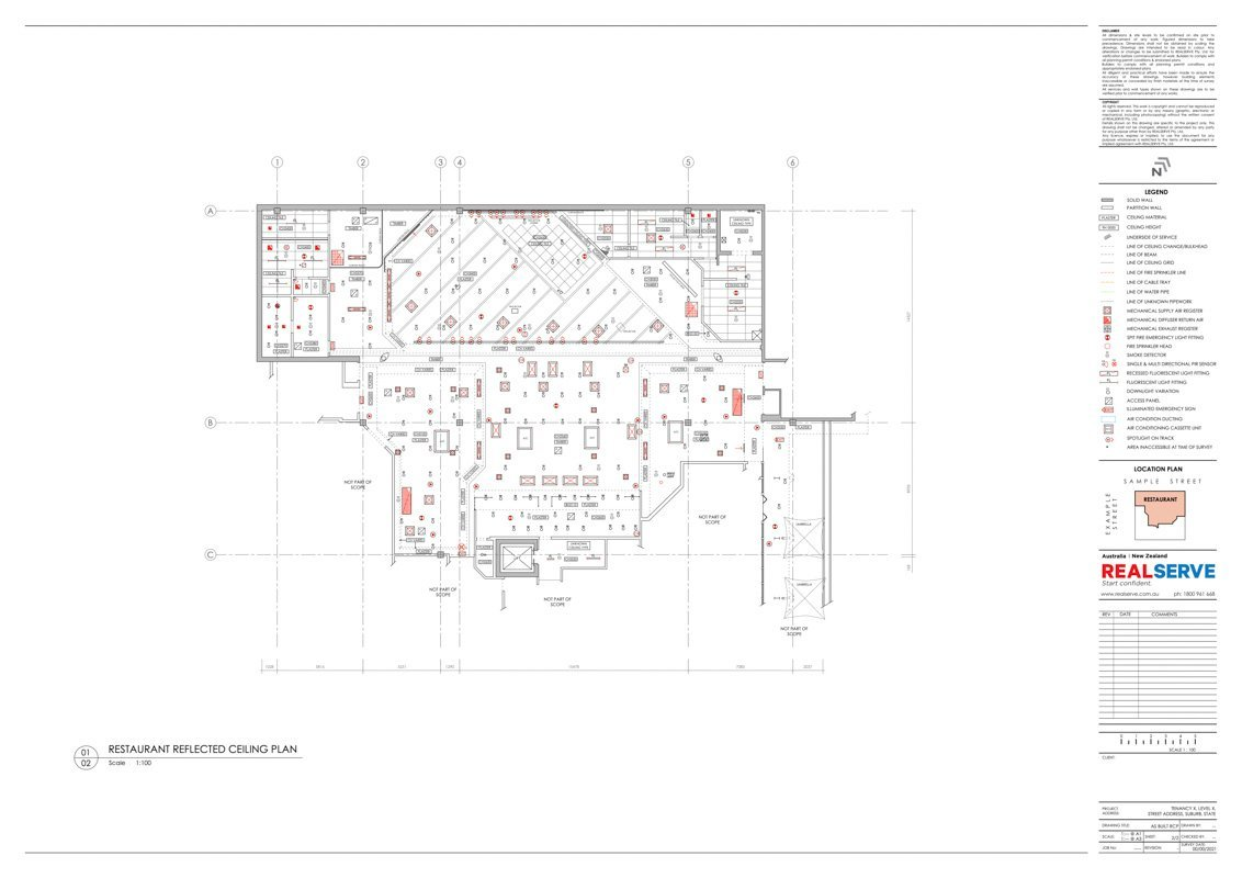 2D AS BUILT FLOOR PLAN DRAWING PRODUCED FROM SCAN TO BIM SERVICE