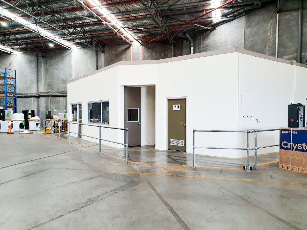 REALSERVE SURVEYOR SERVICE IN AUSTRALIA FOR AS BUILT SURVEY PLAN IN A WAREHOUSE