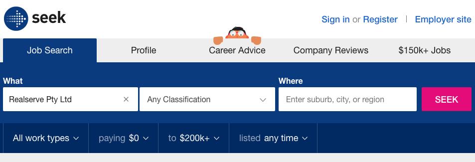Realserve Jobs on Seek