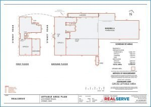 Realserve Pty Ltd - a property measurement and surveyor company in Australia that can do Gross Lettable or Nett Lettable Area Plans for commercial property