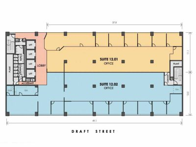 Marketing Drawing example of a floor plan from Realserve Pty Ltd