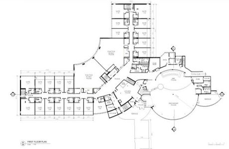 REALSERVE EXISTING CONDITION PLAN AS CONSTRUCTED SURVEY FLOOR PLAN