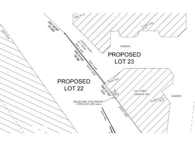 REALSERVE SUBDIVISION PLANS SAMPLE CLOSE UP